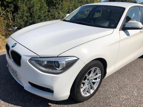 Vuokra-autona automaattivaihteinen BMW 118d